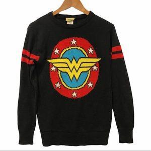 Wonder Woman Graphic Knit Sweater Small